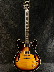 Ibanez JSM10 VYS -John Scofield Signature- 新品 [アイバニーズ][ジョンスコフィールド][Vintage Yellow Sunburst,サンバースト][セミアコ][Electric Guitar,エレキギター]