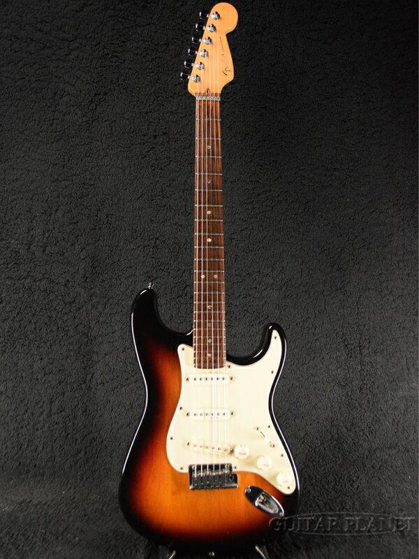 【中古】Fender USA American Deluxe Stratocaster -3-Color Sunburst / Rosewood- 1999年製[フェンダー][アメリカンデラックス,アメデラ][3カラーサンバースト][ストラトキャスター][Electric Guitar,エレキギター]【used_エレキギター】