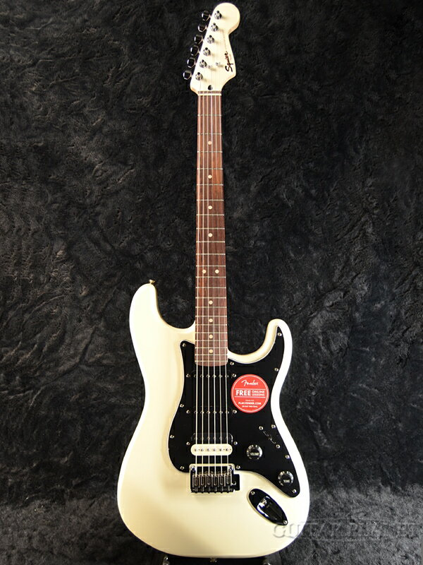 Squier Contemporary Stratocaster HSS Pearl White 新品[スクワイヤー][フェンダー][スタンダード,STD][パールホワイト,白][ストラトキャスター][Electric Guitar,エレキギター]