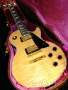 【中古】Gibson Custom Shop ~Custom Collection~ Les Paul Custom Figured -Antique Natural- 2016年製[ギブソンカスタムショップ][ナ…