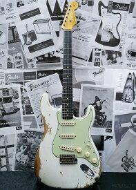 Fender Custom Shop Guitar Planet Exclusive 1960 Stratocaster Heavy Relic -Aged Olympic White- 新品[フェンダーカスタムショップ][ストラトキャスター][エイジドオリンピックホワイト,白][Guitar,ギター]