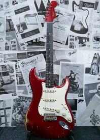【中古】Fender Custom Shop MBS 1964 Stratocaster Relic -Candy Apple Red- by John Cruz 2007年製[フェンダーカスタムショップ][ジョン・クルーズ][キャンディアップルレッド,赤][ストラトキャスター][Guitar]【used_エレキギター】