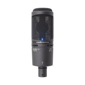 audio-technica AT2020USB+ 新品 USBマイクロホン[オーディオテクニカ][コンデンサーマイク,microphone]