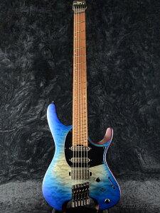 Ibanez QX54QM -BSM (Blue Sphere Burst Matte)- 新品[アイバニーズ][ブルー,青][Electric Guitar,エレキギター][QUEST][Headless,ヘッドレス]