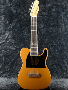 Fender Fullerton Tele Uke -Butterscotch Blonde- 新品 コンサートウクレレ[フェンダー][Ukulele,ウクレレ][Yellow,イエロー,黄色]