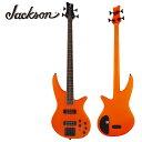 Jackson X Series Spectra Bass SBX IV -Neon Orange- 新品[ジャクソン][オレンジ][Electric Bass,エレキベース]