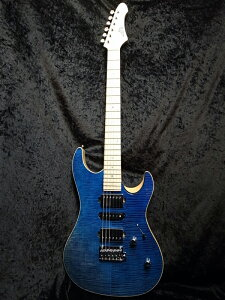 Aria Pro II MAF-8230 CM-SGBL (See Through Gradation Blue)- 新品[アリアプロ2][国産][ブルー,青][Stratocaster,ストラトキャスタータイプ][Electric Guitar,エレキギター]
