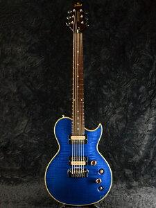【限定生産モデル】Aria Pro II PE-2500 See-through Blue 新品[アリアプロ2][国産][シースルーブルー,青][Les Paul,レスポールタイプ][Electric Guitar,エレキギター][PE2500]