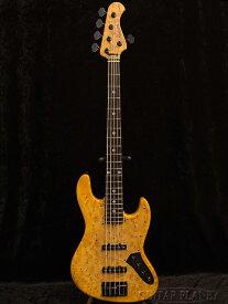 【限定生産】Bacchus WOODLINE-DX5/EWC GB -AYB- 新品[バッカス][国産][ブラウン,茶色][銀杏][5strings,5弦][Jazz Bass,ジャズベースタイプ][Electric Bass,エレキベース]