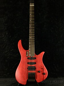 Bacchus G6-HL/ASH/E RED/OIL 新品 レッド[バッカス][Headless,ヘッドレス][赤][Electric Guitar,エレキギター]