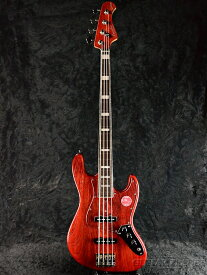 Bacchus WL4DX-ASH -Red Oil- 新品[バッカス][Craft Series,クラフトシリーズ][国産][レッドオイル,赤][Jazz Bass,ジャズベースタイプ][Electric Bass,エレキベース]