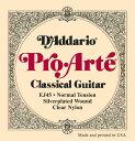 D'Addario 28-43 EJ45 Pro Arte Normal Tension[ダダリオ][プロアルテ][ノーマルテンション][ナイロン弦,Nylon][クラ…
