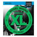 D'Addario 40-95 EXL220BT Nickel Wound Balanced Tension Super Light 新品[ダダリオ][ニッケルワウンド][バランスド…