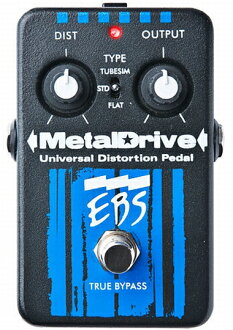 EBS Metal Drive brand new distortion [metal drive, Distortion, Bass, bass guitar Effector, effector