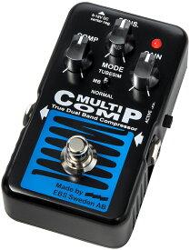 """EBS MultiComp BLUE LABEL """"True Dual Band Compressor"""" 新品 ベース用コンプレッサー[マルチコンプ][ブルーラベル][Effector,エフェクター]"""