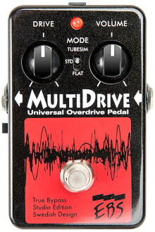 EBS Multi Drive Studio Edition brand new bass Overdrive [multi drive], [Bass Overdrive [Effector and effector]