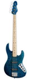 Edwards E-AM-150QM 新品 ブラックアクア[エドワーズ][ESPブランド][国産][Jazz Bass,ジャズベースタイプ][Black Aqua,Blue,ブルー,青][Electric Bass,エレキベース]