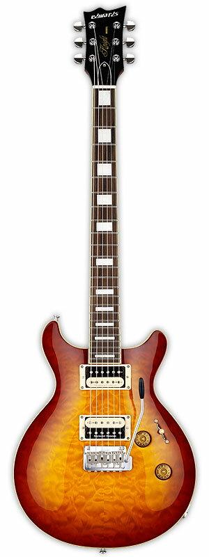 Edwards E-KT-135S/QM 新品 ダークチェリーサンバースト[エドワーズ][ESPブランド][Dark Cherry Sunburst][Electric Guitar,エレキギター]