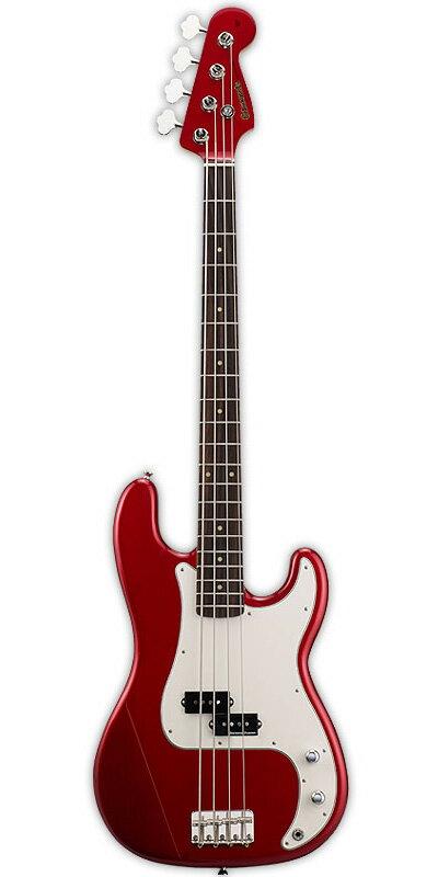 Edwards E-PB-95R/LT 新品 キャンディアップルレッド[エドワーズ][国産][ESPブランド][Precision Bass,プレシジョンベースタイプ,プレベ][Candy Apple Red,赤][Seymour Duncan,ダンカンピックアップ搭載][Electric Bass,エレキベース]