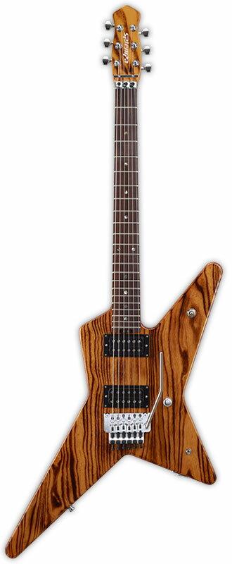 Edwards E-RS-165R 新品[エドワーズ][国産][ESPブランド][Floydrose,フロイドローズ][ESPピックアップ搭載][Natural,ナチュラル][Explorer,エクスプローラータイプ][Electric Guitar,エレキギター]
