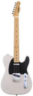 Edwards E-TE-98ASM新货金发[爱德华兹][国产/日本制造][Telecaster,terekyasutataipu][Blonde,White,白,白][Electric Guitar,电子吉他]