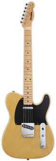 Edwards E-TE-98ASM 신품 버터스 [에드워즈] [국산/일본 스틸] [Telecaster, 텔 레 캐스터 타입] [Butter Scotch, Yellow, 노랑, 노랑] [Electric Guitar, 일렉트릭 기타]