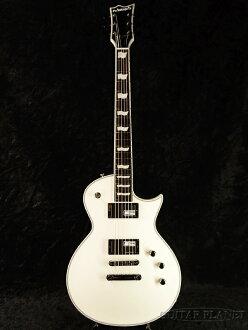 爱德华兹 E-马-135 C 全新白色 [爱德华兹] 和 [ESP 品牌] [Les Paul,Les Paul 类型] [黑色,黑色] [电吉他、 电吉他]