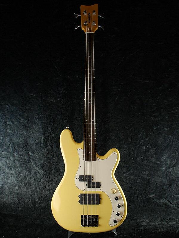 Edwards E-GARAGE ビンテージホワイト 新品 難波章浩モデル[エドワーズ][ESPブランド][国産][Vintage White,白][ハイスタンダード,難波モデル][Precision Bass,プレシジョンベース,プレベ,PB][エレキベース,Electric Bass]