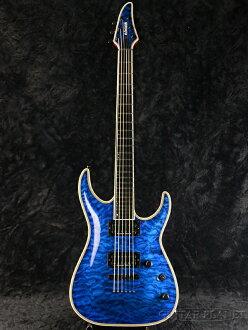 Edwards E-HR-136NT/QM new Blackacre [Edwards] and [ESP brand] [Horizon, horizon] [Black Aqua, Blue, blue, Blue] [Electric Guitar, electric guitars]