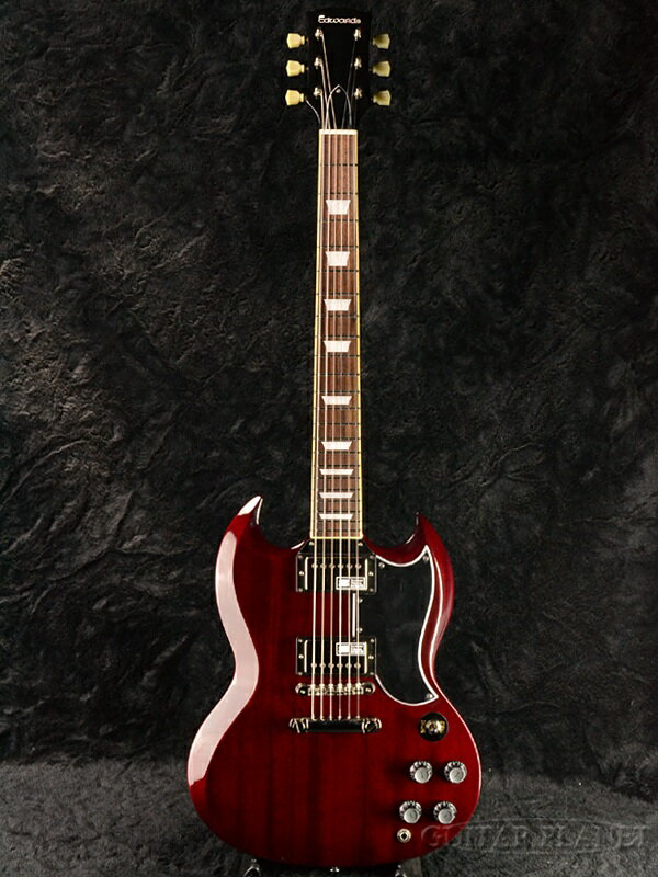 Edwards E-SG-120LT2 新品 チェリー[エドワーズ][国産][ESPブランド][Cherry,Red,レッド,赤][Seymour Duncan,ダンカンピックアップ搭載][Electric Guitar,エレキギター]