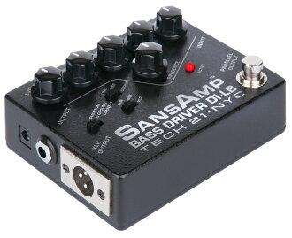 TECH21 SansAmp 低音驱动 DI 磅新品牌
