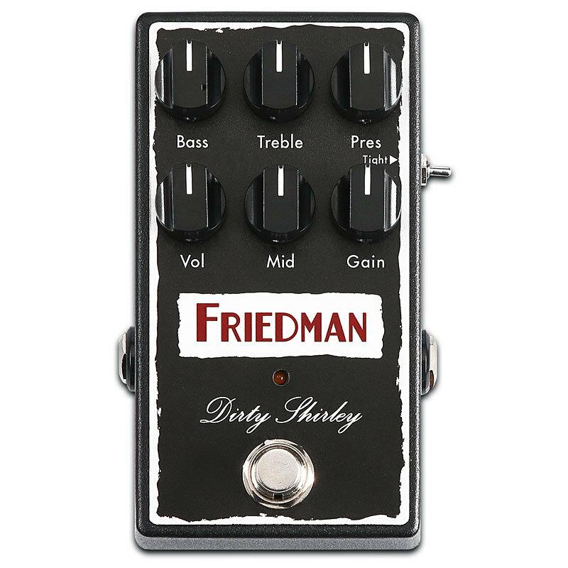 Friedman Dirty Shirley Over Drive 新品 オーバードライブ[フリードマン][Overdrive][Effector,エフェクター][動画]