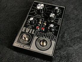 【新品特価】Death By Audio Evil Filter 新品 フィルター/ファズ [デスバイオーディオ][イービルフィルター][Fuzz][Effector,エフェクター]