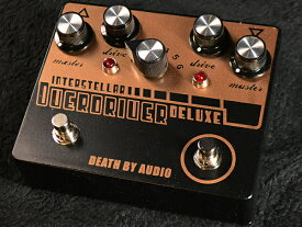 Death By Audio Interstellar Overdriver Deluxe 新品 オーバードライブ [デスバイオーディオ][インターステラーオーバードライバーデラックス][Effector,エフェクター]