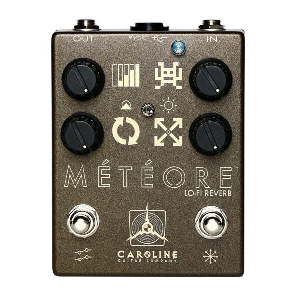 Caroline Guitar Company METEORE 新品 フィードバックリバーブ[キャロラインギターカンパニー][メィ-テイ-オア][Reverb][Feedback][Effector,エフェクター]