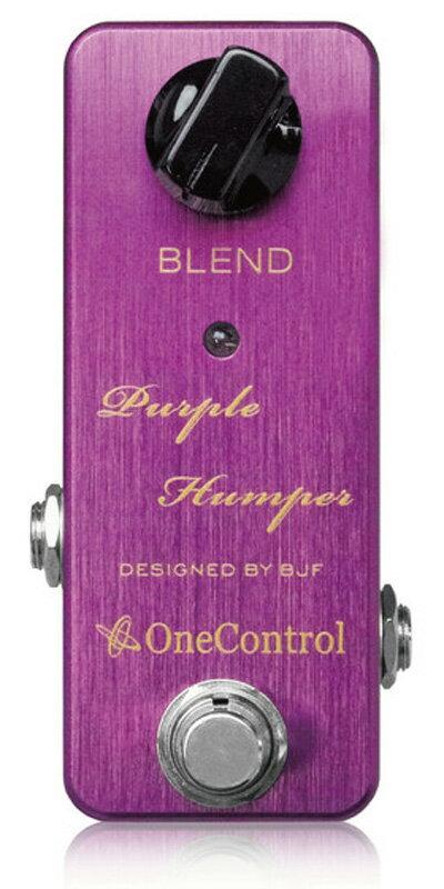One Control Purple Humper Booster 新品[ワンコントロール][ブースター][パープル,紫][Effector,エフェクター]