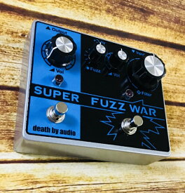 【世界限定200台!!】Death By Audio Super Fuzz War 新品 ファズ [デスバイオーディオ][スーパーファズウォー][Effector,エフェクター]