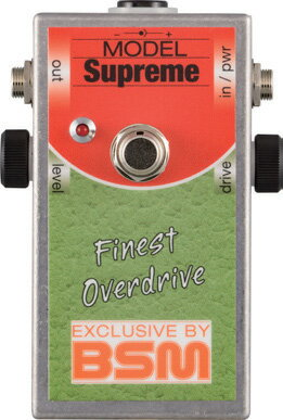 BSM Supreme 新品 リッチー・ブラックモア風オーバードライブ[シュプリーム][Ritchie Blackmore][Overdrive][Effector,エフェクター]