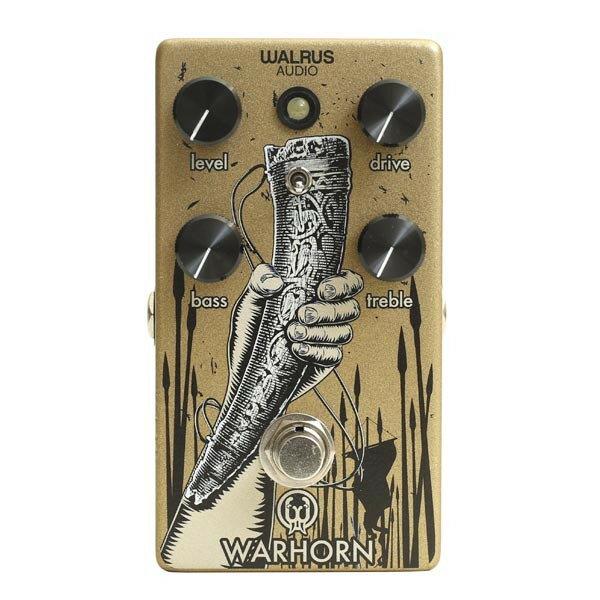 WALRUS AUDIO WARHORN 新品 オーバードライブ[ウォルラスオーディオ][ウォーホーン][Overdrive][Effector,エフェクター]