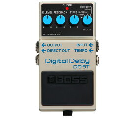 BOSS DD-3T 新品 Digital Delay[ボス][エフェクター,Effector][ショートループ][デジタルディレイ]