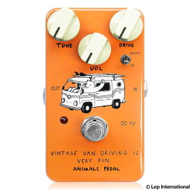 Animals Pedal Vintage Van Driving Is Very Fun 新品 オーバードライブ[アニマルペダル][ビンテージバンドライビングイズベリーファン][Overdrive][Effector,エフェクター]