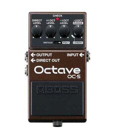 BOSS OC-5 新品 Octave[ボス][エフェクター,Effector][オクターバー]