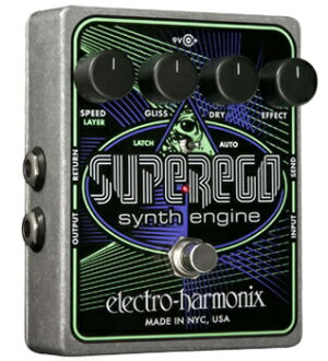 Electro-Harmonix Superego brand new synth engine [stompbox], [superego] Synth Engine Multi Effector