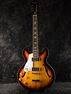 Ltd. Epiphone Casino Left Handed Vintage Sunburst brand new [Epiphone], [casino] [vintegethumberst] [for Lefty, left] Semak and flak Electric Guitar, electric guitar