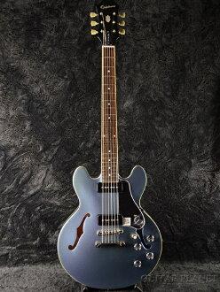 Epiphone 限量版 ES 339 P90 佩勒姆蓝色新 [Epiphone],[ES339] [佩勒姆蓝色,蓝色] [semiaco] [p 90] [电吉他、 电吉他]