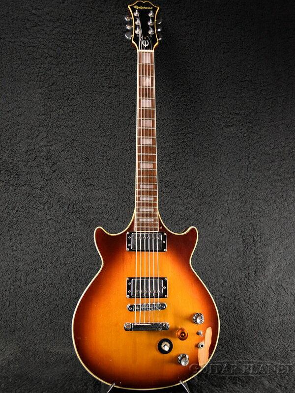 【中古】Epiphone Genesis Deluxe -Sunburst- 1980年頃製[エピフォン][ジェネシス][デラックス][サンバースト][Les Paul,レスポールタイプ][Electric Guitar,エレキギター]【used_エレキギター】