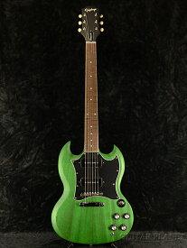 【2020年モデル】Epiphone SG Classic Worn P-90 -Inverness Green- 新品 グリーン[エピフォン][緑][SG][エレキギター,Electric Guitar]