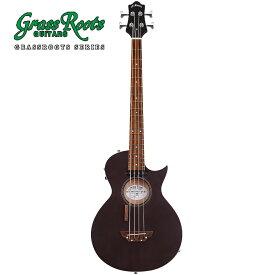 GrassRoots G-AC-BASS -See Thru Black Satin- 新品[グラスルーツ][ESPブランド][ブラック,黒][Acoustic Bass Guitar,アコベ,アコースティックベース]