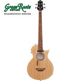 GrassRoots G-AC-BASS -Natural Satin- 新品[グラスルーツ][ESPブランド][Acoustic Bass Guitar,アコベ,アコースティックベース]