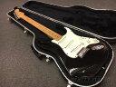 【中古】Fender USA American Standard Stratocaster -Black / Maple- 1998年製[フェンダー][アメリカンスタンダード,アメスタ][ブラッ…